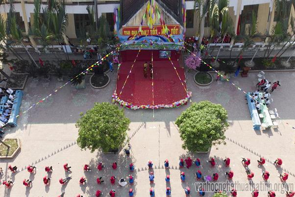 Ấn tượng ngày hội Tiếng  Anh trường THCS Hà Hải