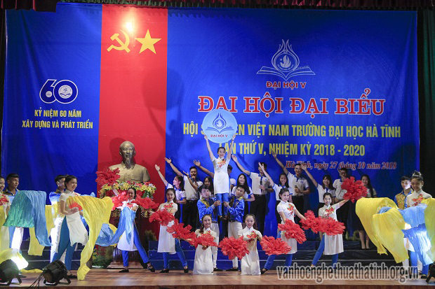 Đại hội Đại biểu Hội sinh viên Việt Nam Trường Đại học Hà Tĩnh lần thứ V