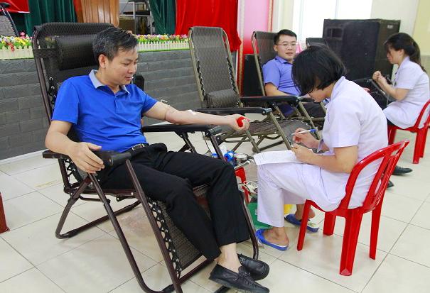 Ngày hội hiến máu tình nguyện lần thứ II năm 2019
