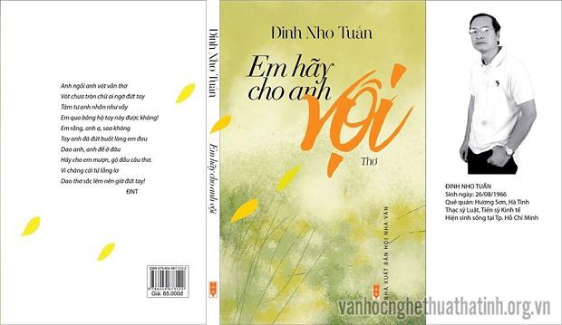 Giới thiệu tập thơ Em hãy cho anh vội của tác giả Đinh Nho Tuấn
