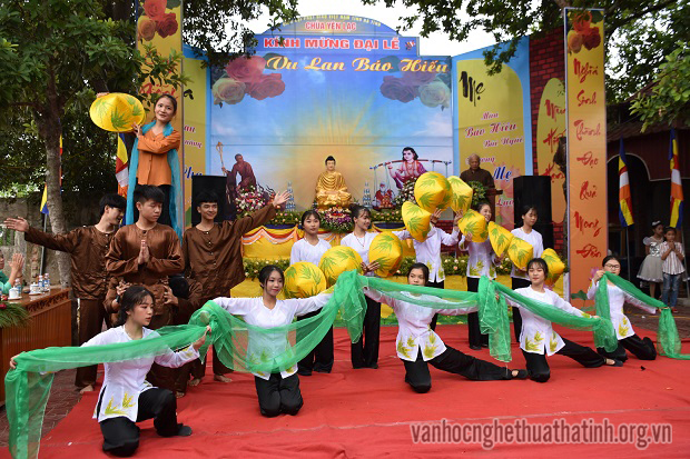 Ý nghĩa Lễ Vu lan báo hiếu tại chùa Yên Lạc