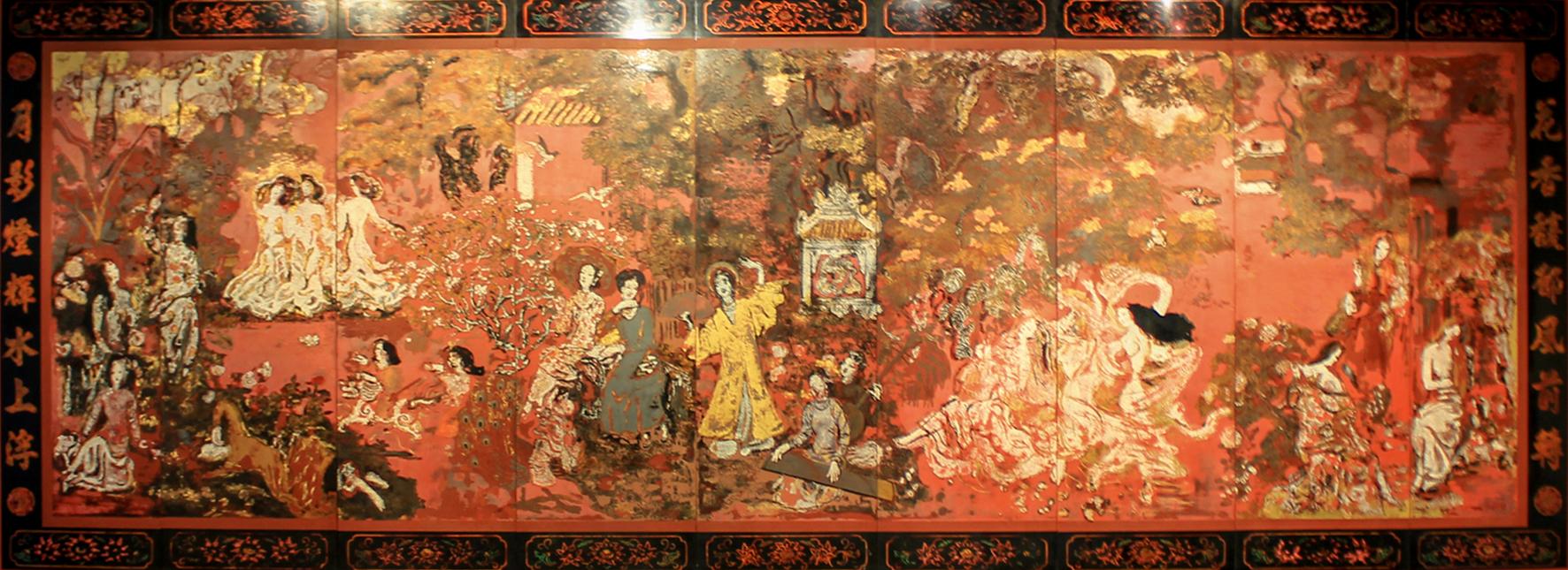 Các tác phẩm sơn mài của Họa sĩ Nguyễn Gia Trí - Văn nghệ Hà Tĩnh