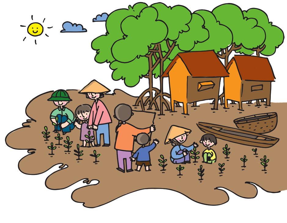 Phát động cuộc thi vẽ với chủ đề rừng ngập mặn bảo vệ cuộc sống