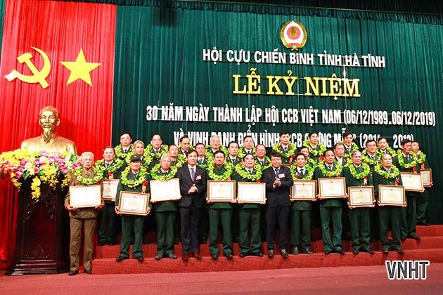 Hà Tĩnh kỷ niệm 30 năm thành lập Hội Cựu chiến binh Việt Nam