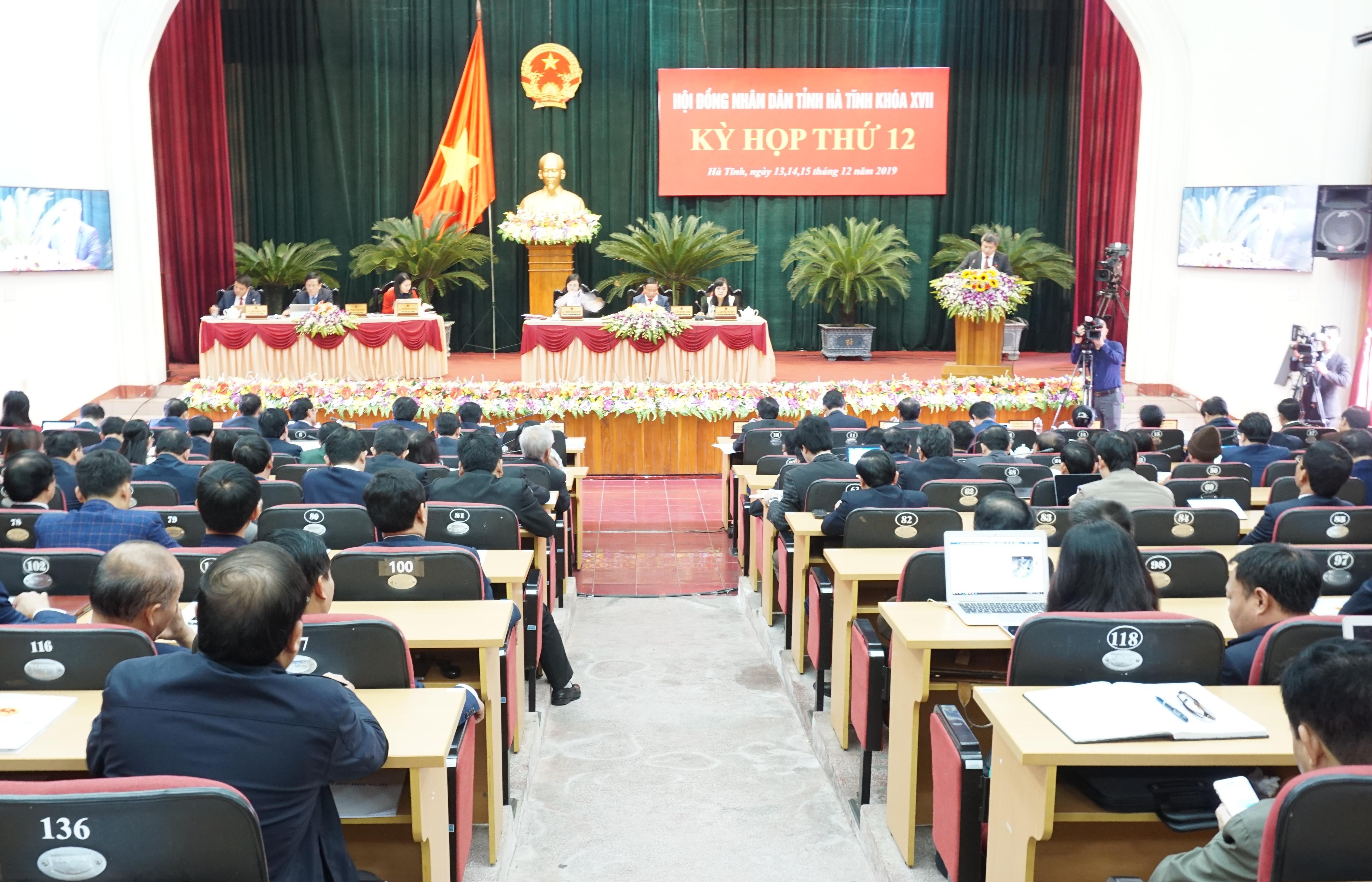 HĐND tỉnh Hà Tĩnh bế mạc kỳ họp thứ 12, khóa XVII