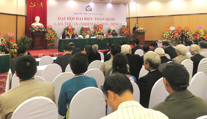 Hội Mỹ thuật Việt Nam tổ chức Đại hội lần thứ IX nhiệm kỳ 2019-2024