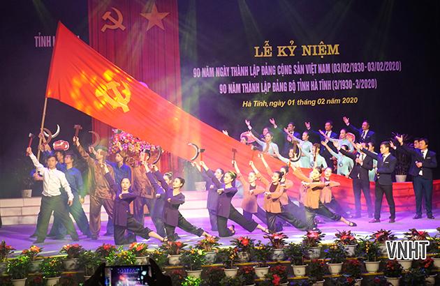 Kỷ niệm 90 năm thành lập Đảng Cộng sản Việt Nam, Đảng bộ tỉnh Hà Tĩnh