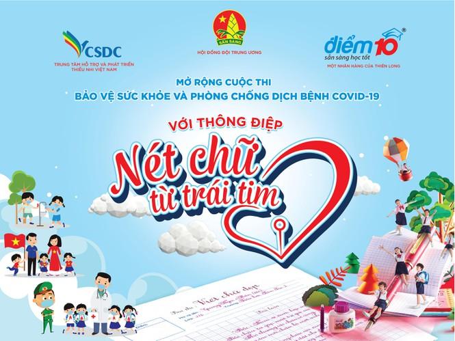 Cuộc thi Bảo vệ sức khỏe và phòng chống dịch bệnh Covid-19 với thông điệp Nét chữ từ trái tim