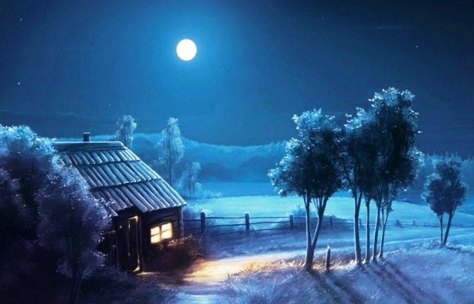 Ngắm trăng nhớ ngoại.....