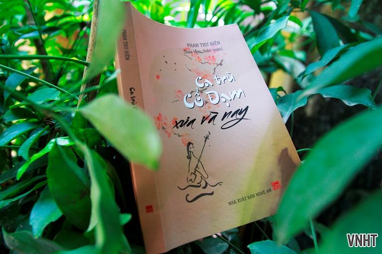 Tập sách Ca trù Cổ Đạm xưa và nay của nhà nghiên cứu Phan Thư Hiền