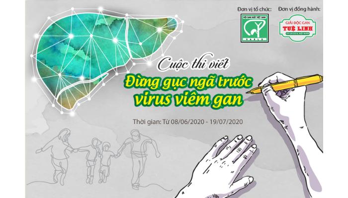 """Cuộc Thi Viết: """"Đừng Gục Ngã Trước Virus Viêm Gan"""""""