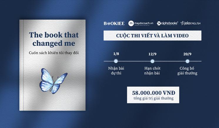 Cuộc Thi Viết & Làm Video - The Book That Changed Me 2020