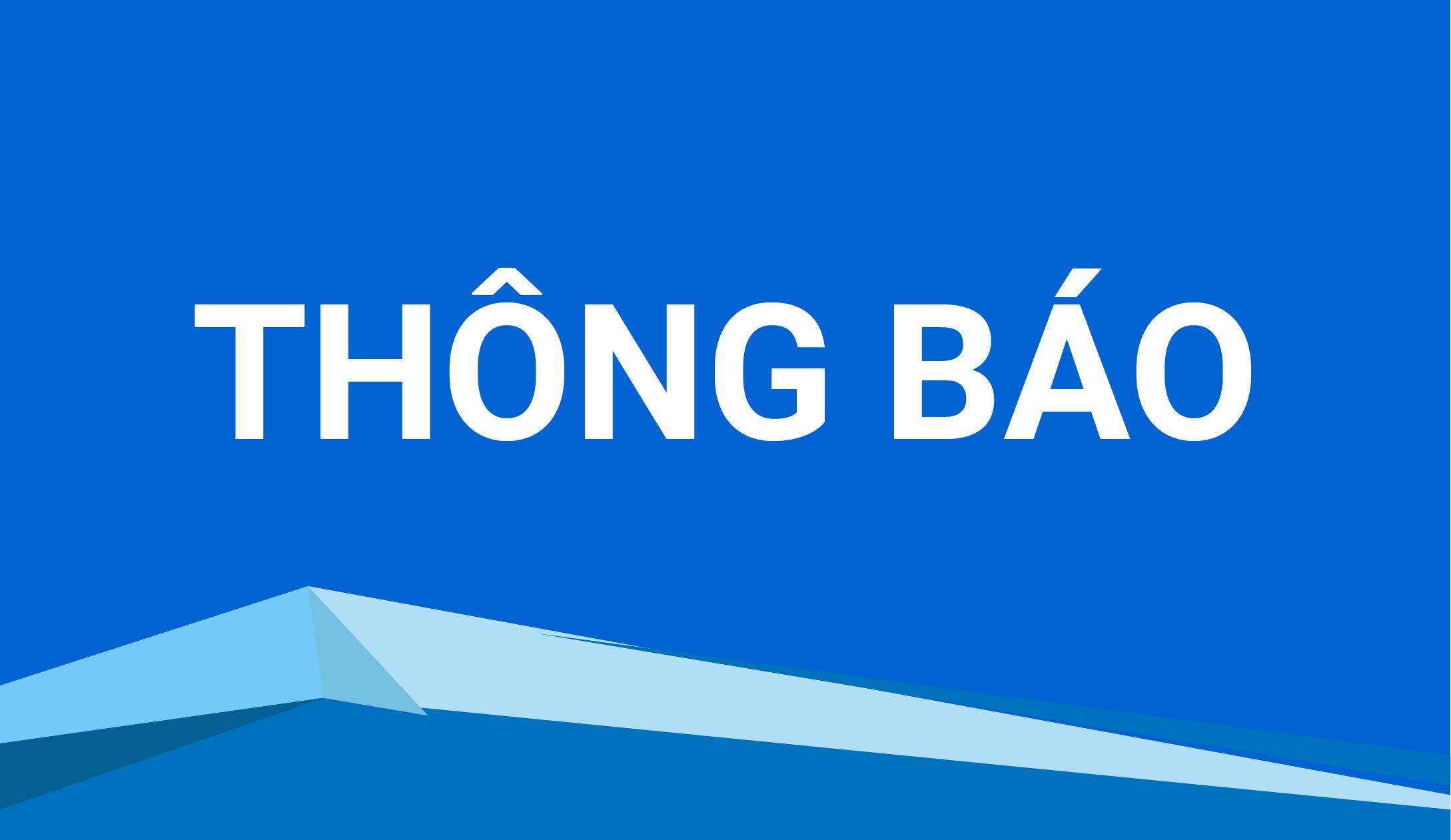 Thông báo về việc tiếp nhận tác phẩm xét Giải thưởng Văn học nghệ thuật năm 2020 của Liên hiệp các Hội VHNT Việt Nam