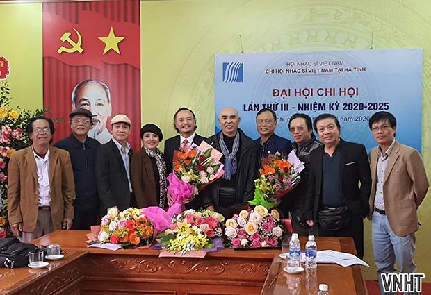 Đại hội Chi hội Nhạc sĩ Việt Nam tại Hà Tĩnh lần thứ III, nhiệm kỳ 2020-2025