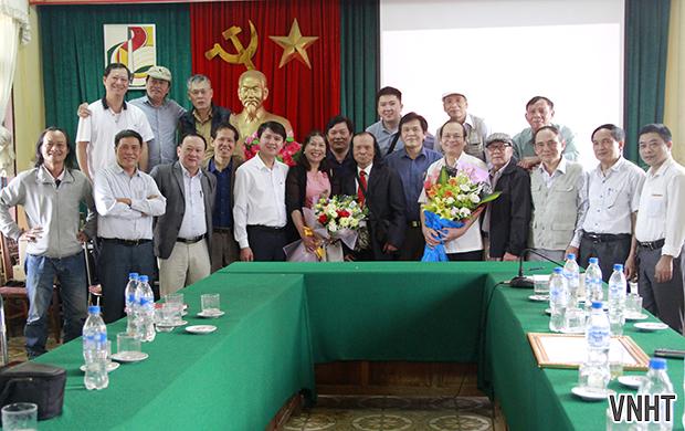 Gặp mặt nhân lễ kỷ niệm 68 năm Ngày truyền thống Nhiếp ảnh Việt Nam