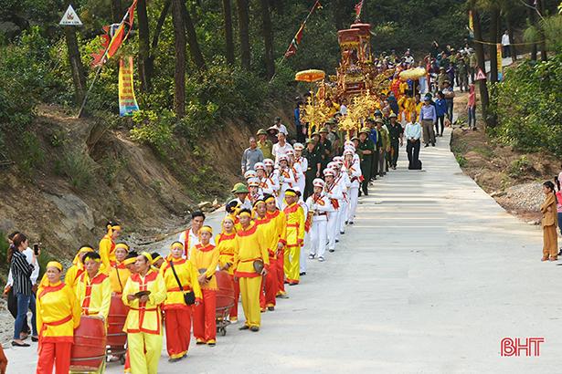 Giỗ tổ Hùng Vương ở đất thiêng Ngàn Hống