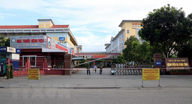 Phong tỏa Bệnh viện Đa khoa tỉnh Hà Tĩnh vì liên quan ca mắc COVID-19