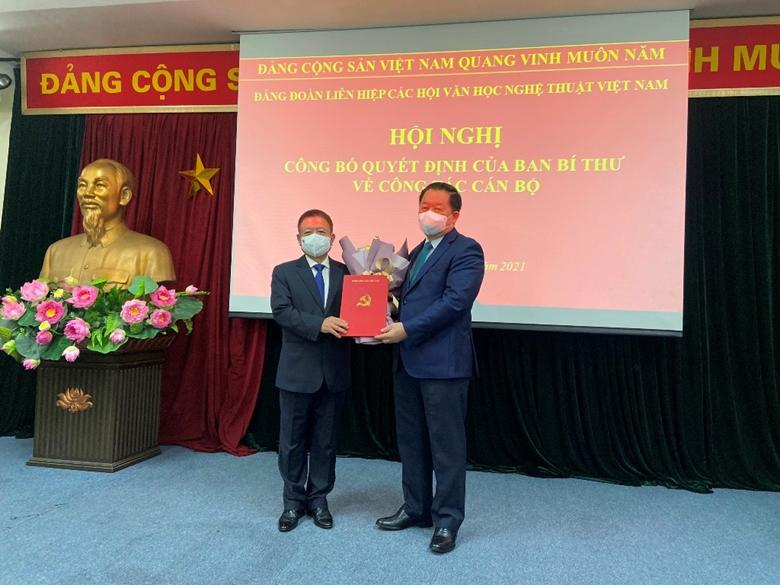 Nhạc sĩ Đỗ Hồng Quân giữ chức Bí thư Đảng Đoàn, Chủ tịch Liên hiệp các Hội VHNT Việt Nam