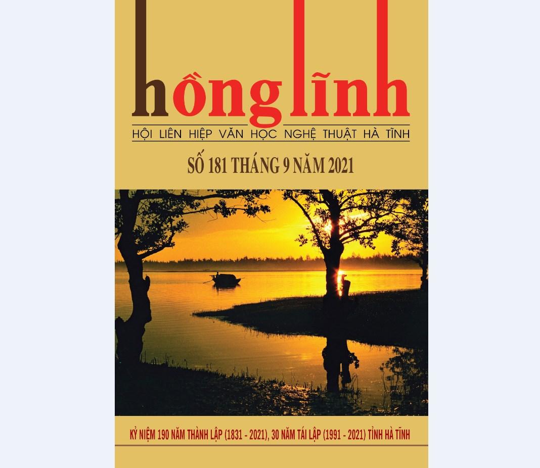 Tạp chí Hồng Lĩnh số 181
