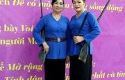 Nghệ nhân Nguyễn Thị Hồng Hưởng trưởng thành từ phong trào