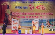 Sinh hoạt Trò Kiều trên quê hương Đại thi hào Nguyễn Du