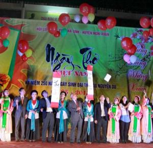 Ngày thơ Việt Nam tại Nghi Xuân